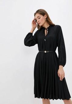 Платье, Love Republic, цвет: черный. Артикул: LO022EWHBQT4.