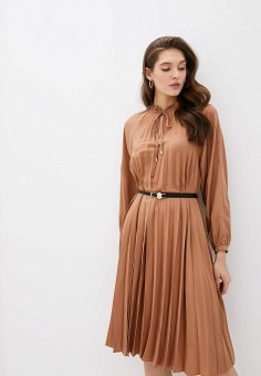 Платье, Love Republic, цвет: бежевый. Артикул: LO022EWHBQT5.
