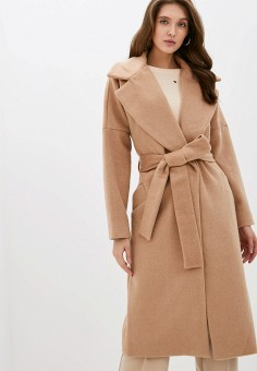 Пальто, Love Republic, цвет: бежевый. Артикул: LO022EWHBQT6.