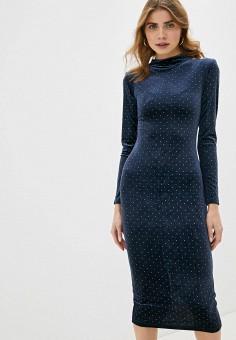 Платье, Love Republic, цвет: синий. Артикул: LO022EWHBQU1.
