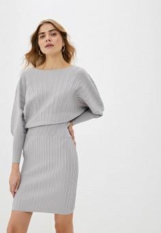 Платье, Love Republic, цвет: серый. Артикул: LO022EWHBQV2.