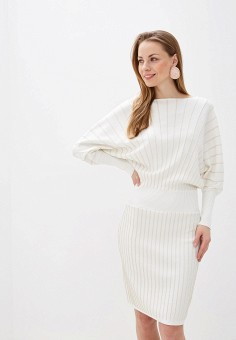 Платье, Love Republic, цвет: белый. Артикул: LO022EWHBQV3.