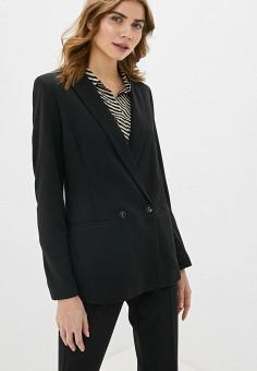 Жакет, Love Republic, цвет: черный. Артикул: LO022EWHBQV8. Одежда / Пиджаки и костюмы