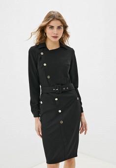 Платье, Love Republic, цвет: черный. Артикул: LO022EWHBQV9.