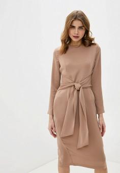 Платье, Love Republic, цвет: бежевый. Артикул: LO022EWHBQW1.