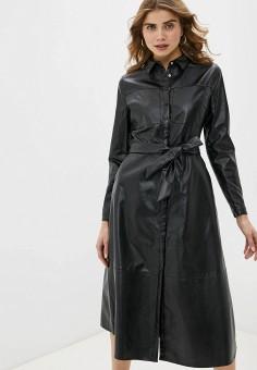 Платье, Love Republic, цвет: черный. Артикул: LO022EWHBQW3.