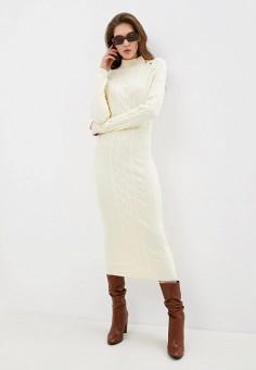 Платье, Love Republic, цвет: бежевый. Артикул: LO022EWHBQW6.