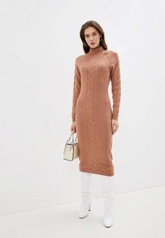 Платье, Love Republic, цвет: бежевый. Артикул: LO022EWHBQW7.