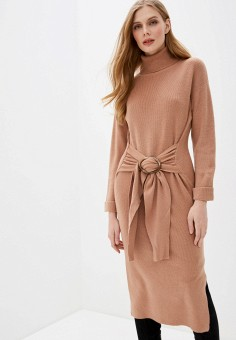 Платье, Love Republic, цвет: бежевый. Артикул: LO022EWHZOE6.