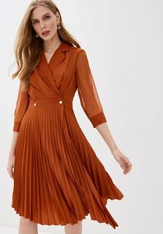 Платье, Love Republic, цвет: коричневый. Артикул: LO022EWHZOF6.