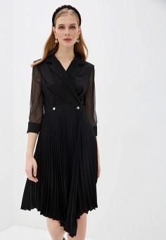 Платье, Love Republic, цвет: черный. Артикул: LO022EWHZOF7.