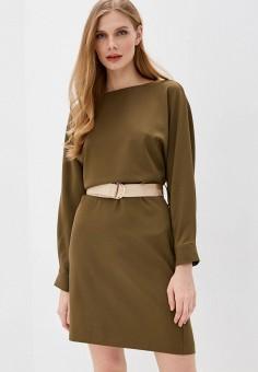 Платье, Love Republic, цвет: хаки. Артикул: LO022EWHZOG7.