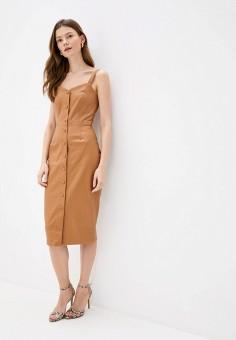 Платье, Love Republic, цвет: коричневый. Артикул: LO022EWJBYR2.