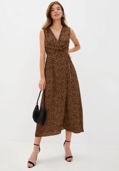 Платье, Love Republic, цвет: коричневый. Артикул: LO022EWJBYS3.