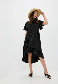 Платье, Love Republic, цвет: черный. Артикул: LO022EWKECI0.