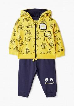 Костюм спортивный, Losan, цвет: желтый, синий. Артикул: LO025EBICGU2. Новорожденным