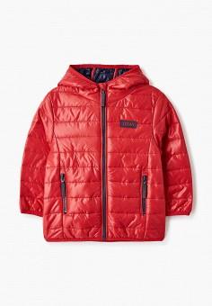 Куртка утепленная, Losan, цвет: красный. Артикул: LO025EGICGO1. Девочкам / Одежда / Верхняя одежда / Куртки и пуховики