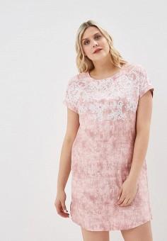 Платье домашнее, Лори, цвет: розовый. Артикул: LO037EWEYVQ9. Одежда / Домашняя одежда