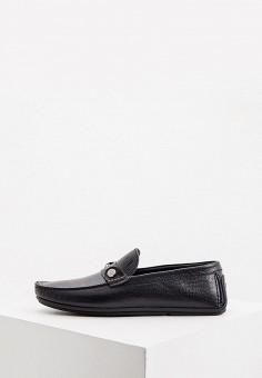 Мокасины, Loriblu, цвет: черный. Артикул: LO137AMKIOL1. Обувь / Мокасины и топсайдеры