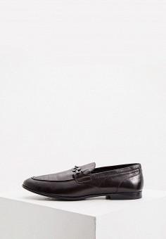 Мокасины, Loriblu, цвет: коричневый. Артикул: LO137AMKIOL4. Обувь / Мокасины и топсайдеры