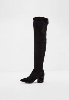 Ботфорты, Loriblu, цвет: черный. Артикул: LO137AWJYDK3. Обувь / Сапоги
