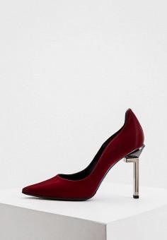 Туфли, Loriblu, цвет: бордовый. Артикул: LO137AWJYDK8. Обувь / Туфли / Лодочки