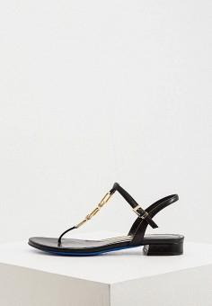 Сандалии, Loriblu, цвет: черный. Артикул: LO137AWKIOM6. Обувь / Сандалии