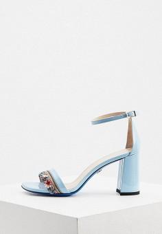 Босоножки, Loriblu, цвет: голубой. Артикул: LO137AWKION1. Обувь / Босоножки