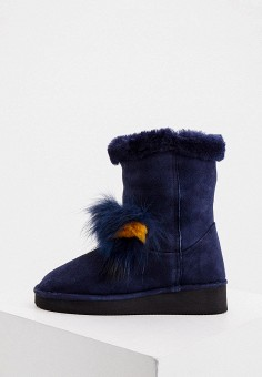Полусапоги, Loriblu, цвет: синий. Артикул: LO137AWKJAH8. Обувь / Сапоги / Угги и унты