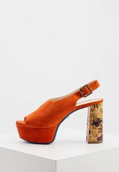 Босоножки, Loriblu, цвет: оранжевый. Артикул: LO137AWKJAJ2. Обувь / Босоножки