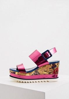 Босоножки, Loriblu, цвет: розовый. Артикул: LO137AWKJAJ8. Обувь / Босоножки