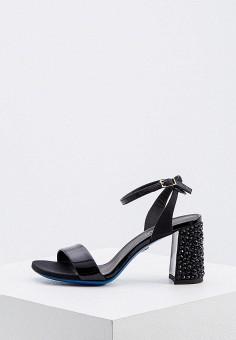 Босоножки, Loriblu, цвет: черный. Артикул: LO137AWKJAK3. Обувь / Босоножки