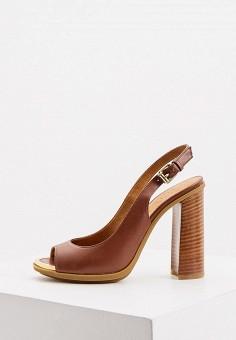 Босоножки, Loriblu, цвет: коричневый. Артикул: LO137AWKJAK6. Обувь / Босоножки