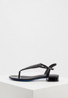 Сандалии, Loriblu, цвет: черный. Артикул: LO137AWKJAL8. Обувь / Сандалии