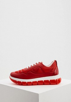 Кроссовки, Love Moschino, цвет: красный. Артикул: LO416AWJDYU0.