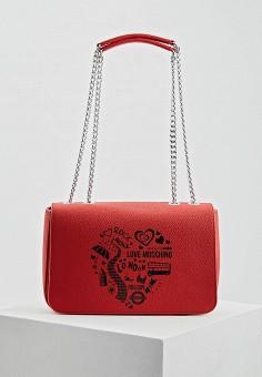 dca31fc3c26d Фото Сумка Love Moschino - цвет: красный LO416BWDRND5 Китай