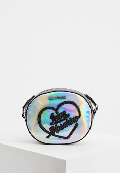 Сумка, Love Moschino, цвет: серебряный. Артикул: LO416BWHHQL0.