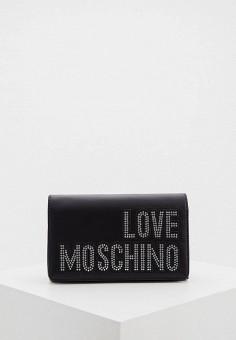 Сумка, Love Moschino, цвет: черный. Артикул: LO416BWHHQR7.