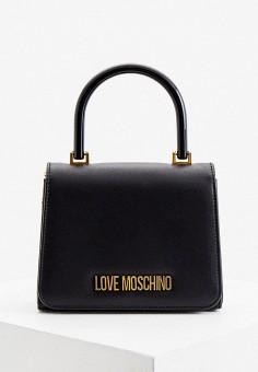 Сумка, Love Moschino, цвет: черный. Артикул: LO416BWHXFF2.