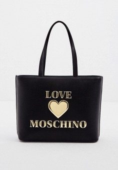 Сумка, Love Moschino, цвет: черный. Артикул: LO416BWJQJC1. Аксессуары / Сумки