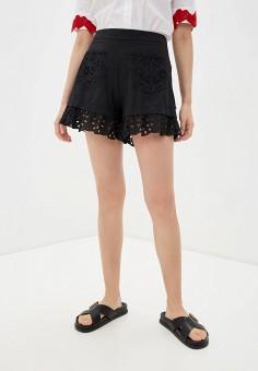 Шорты, Love Moschino, цвет: черный. Артикул: LO416EWHRCY5. Одежда / Шорты