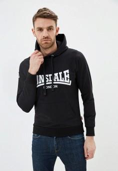 Худи, Lonsdale, цвет: черный. Артикул: LO789EMITHH7. Одежда / Толстовки и олимпийки / Худи