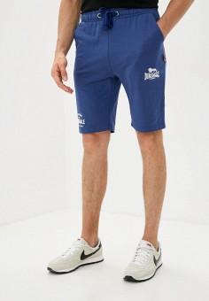 Шорты спортивные, Lonsdale, цвет: синий. Артикул: LO789EMKCNM5. Одежда / Шорты