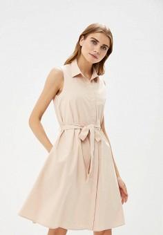 Платье, Lusio, цвет: бежевый. Артикул: LU018EWBYFK9.