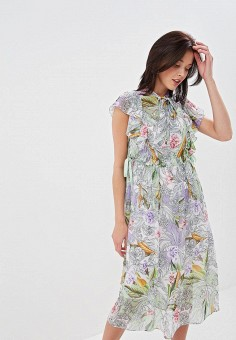 Платье, Lusio, цвет: мультиколор. Артикул: LU018EWFCEZ5.