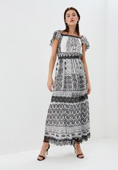 Платье, Lusio, цвет: серый. Артикул: LU018EWFGDR7.