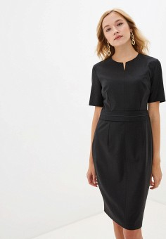 Платье, Lusio, цвет: черный. Артикул: LU018EWHEFR0.