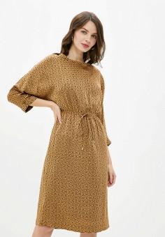 Платье, Lusio, цвет: коричневый. Артикул: LU018EWHEFR9.