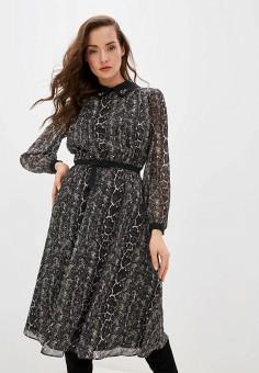 Платье, Lusio, цвет: черный. Артикул: LU018EWHPLC6.