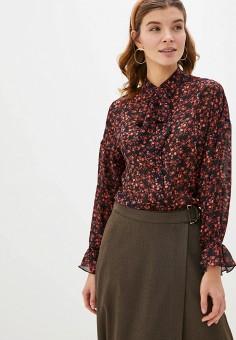 Блуза, Lusio, цвет: черный. Артикул: LU018EWHUFK7. Одежда / Блузы и рубашки